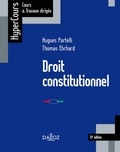 Hugues Portelli et Thomas Ehrhard - Droit constitutionnel.
