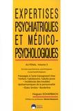 Hugues Scharbach - Expertises psychiatriques et médico-psychologiques au pénal - Volume 3, Au pénal - Données psychiatriques, psychologiques et psychopathologiques, passages à l'acte transgressifs chez l'enfant, l'adolescent, l'adulte jeune....