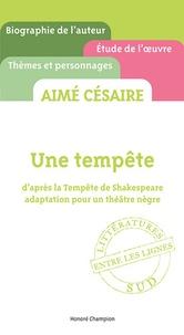 Aimé Césaire, Une tempête - Daprès la Tempête de Shakespeare, adaptation pour un théâtre nègre.pdf