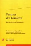 Huguette Krief et Marie-Emmanuelle Plagnol-Diéval - Femmes des Lumières - Recherches en arborescences.