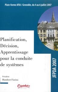 Galabria.be 2e Journées Francophones Planification, Décision, Apprentissage pour la conduite de système - Actes de la conférence JFPDA 2007 Image