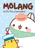 Hye-Ji Yoon et Marie Manand - Mölang  : Mölang et Piu Piu s'amusent.