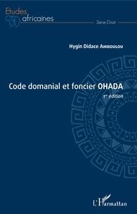 Deedr.fr Code domanial et foncier OHADA Image