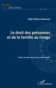 Ebook télécharger deutsch gratis Le droit des personnes et de la famille au Congo MOBI PDB 9782343190730 (French Edition) par Hygin Didace Amboulou