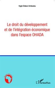 Deedr.fr Le droit du développement et de l'intégration économique dans l'espace OHADA Image