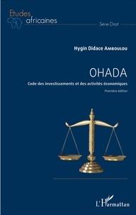 OHADA - Code des investissements et des activités économiques - Première édition.pdf