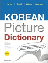 Hyoun - hwa Kang - KOREAN PICTURE DICTIONARY 1, +MP3 CD (Anglais/Chinois/Japonais).