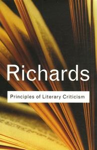 I.-A. Richards - Principles of Literary Criticism.