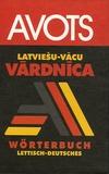 I. Andersone et I. Ancane - Latviesu - vacu vardnica - Wörterbuch lettisch - deutsch.