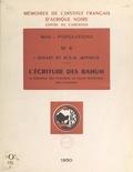 I. Dugast et M. D. W. Jeffreys - L'écriture des Bamum - Sa naissance, son évolution, sa valeur phonétique, son utilisation.
