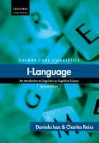 I-Language - An Introduction to Linguistics as Cognitive Science.