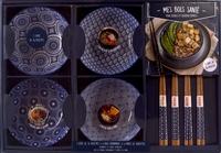 Coffret bleu Mes bols santé Poke Bowls et Buddha Bowls - Mes bowls santé, poké bowls et buddha bowls, avec 4 paires de baguettes bois, 4 bols.pdf