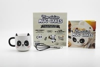 I2C - Mon atelier mug cake - Avec un joli mug panda et 1 fouet.