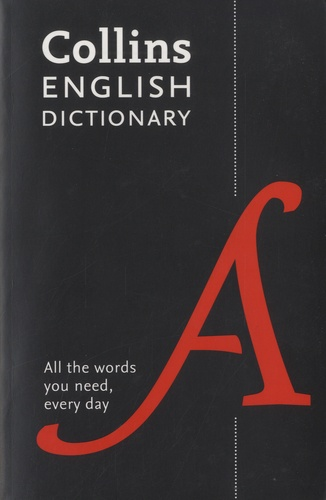Collins English Dictionary. Paperback 8th edition