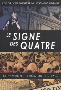 Ian Edginton et I.N.J. Culbard - Une histoire illustrée de Sherlock Holmes Tome 3 : Le signe des quatre.