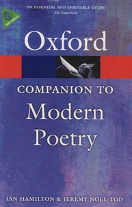 Ian Hamilton - The Oxford Companion to Modern Poetry.