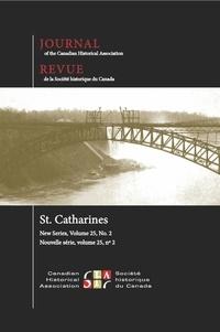 Ian Wereley et Eduardo Fabbro - Journal of the Canadian Histor  : Journal of the Canadian Historical Association. Vol. 25 No. 2,  2014.