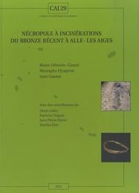 Iann Gaume - Nécropoles à incinérations du bronze récent à Alle-Les Aiges.