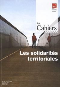 IAURIF - Les Cahiers de l'IAURIF N° 148, Septembre 20 : Les solidarités territoriales.