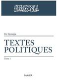 Ibn Taymiyya - Textes politiques.