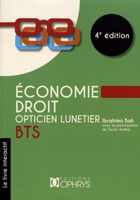 Ibrahima Bah - Economie - Droit BTS opticien lunetier.