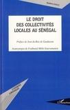 Ibrahima Diallo - Le droit des collectivités locales au Sénégal.