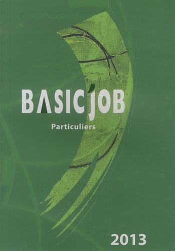 Basic Job Particuliers Icedap Livres Furet Du Nord