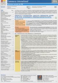 Icédap - Commerce international - Opérations courantes des PME.