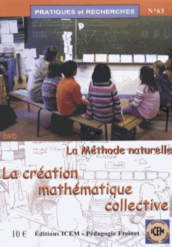 Monique Quertier - La création mathématique collective - La méthode naturelle. 1 DVD