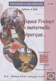 Martine Roussel - Pratiques Freinet en maternelle... Aperçus. 4 DVD