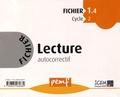 ICEM-Pédagogie Freinet - Fichier Lecture autocorrectif 1.4 Cycle 2.