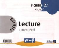 ICEM-Pédagogie Freinet - Fichier Lecture autocorrectif Cycle 2 - Fichier 2.1.