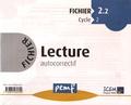 ICEM-Pédagogie Freinet - Fichier Lecture autocorrectif Cycle 2 - Fichier 2.2.