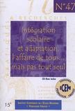 ICEM-Pédagogie Freinet - Intégration scolaire et adaptation, l'affaire de tous... mais pas tout seul. 1 Cédérom
