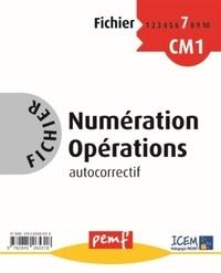 ICEM-Pédagogie Freinet - Numération Opérations CM1 - Fichier autocorrectif 7.