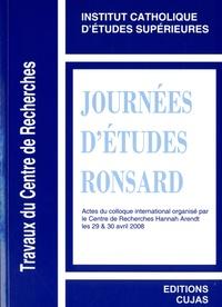 ICES - Journées d'études Ronsard.