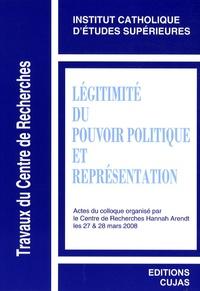 ICES - Légitimité du pouvoir politique et représentation.