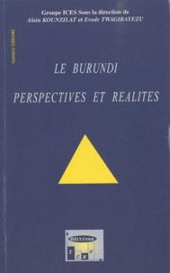 Alain Kounzilat - Nouvelles Congolaises N° 39-40, Avril-Sept : Le Burundi : perspectives et réalités.