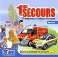 Icone Graphic - 1ers secours - Prévention et Secours Civiques, niveau 1.