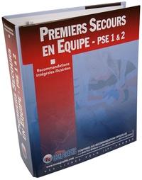 """Icone Graphic - Classeur et fiches """"Recommandations 2018 premiers secours en équipe PSE1/PSE2""""."""
