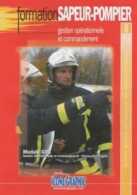 Icone Graphic - Formation sapeur-pompier - Gestion opérationnelle et commandement GOC2.