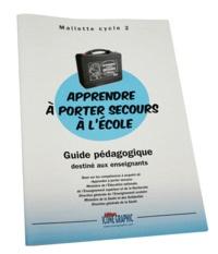 """Icone Graphic - Guide pédagogique """"Apprendre à porter secours à l'école"""" Cycle 2."""