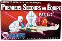 Icone Graphic - Premiers Secours en Equipe PSE 1/2 - Contexte infectieux ou épidémique.