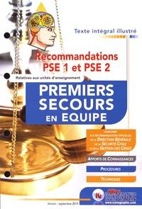 Icone Graphic - Recommandations PSE 1 et PSE 2 premiers secours en équipe.