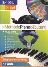 Eric Boëll - Méthode piano débutant. 1 DVD