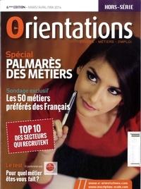 IDECOM - Orientations Hors-série mars-avri : Palmarès des métiers.