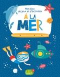 Idées Book - A la mer - Labyrinthes, cherche et trouve, sudoku, énigmes.