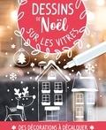 Idées Book - Dessins de Noël sur les vitres - Avec 1 feutre craie.