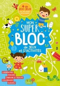 Idées Book - Mon super bloc d'activités de jeux et d'activités.