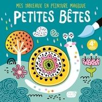 Idées Book - Petites bêtes - Avec 1 pinceau.